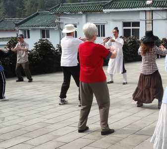 pratiquer le taichi